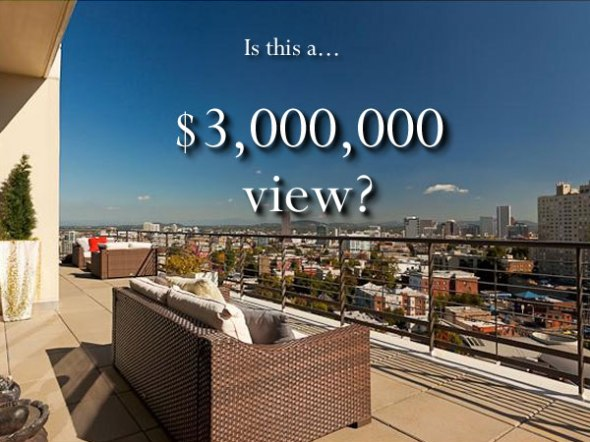 Westerly penthouse, The Westerly, portland penthouses