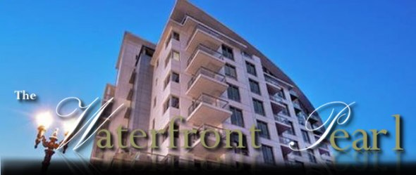 waterfront Pearl condominiums