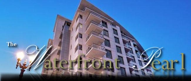waterfront Pearl condominiums
